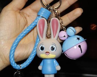 Zootopia key rings, Judy key ring, Nick key ring