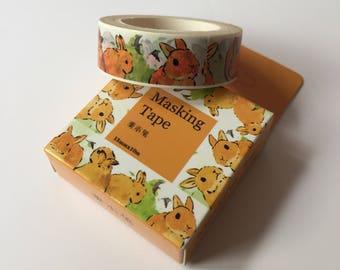 Rabbits Washi Tape