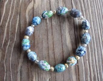 Polymer Clay Handmade Bracelet