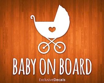 CAR DECAL, baby on board car decal, baby on board decal, baby on board sticker, baby on board sign, car decal family, baby on board, decal