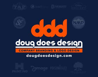 Logo Design: Authentic & Hand Drawn Package