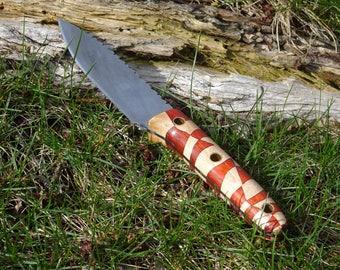 patterned kitchen knife