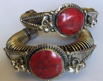 Rosy Cuff Bracelet