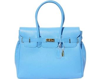 Mantova: Handmade Italian bag, genuine leather, shoulder bag