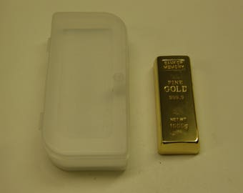Flash Drive Memories USB Bank - Looks Like A Bar Of 999 Fine Gold