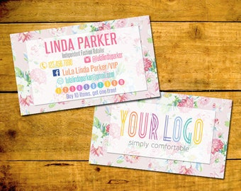 Punch Card, Buy 10 Get 1 Free, Customized, Personalized Digital File, Fashion Consultant Business Cards