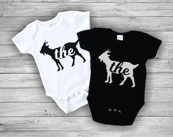 Trendy Baby Clothes, Hipster Baby Clothes, The Goat, Trendy Baby Boy Clothes, Cute Boy Onesies, Goat Shirt, Gift For Shower, Baby Swag
