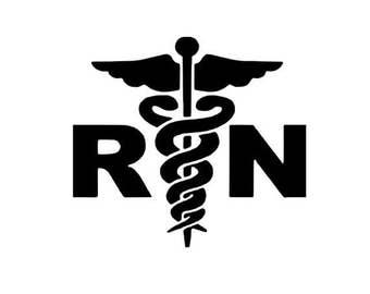 Registered Nurse RN Digital SVG FILE
