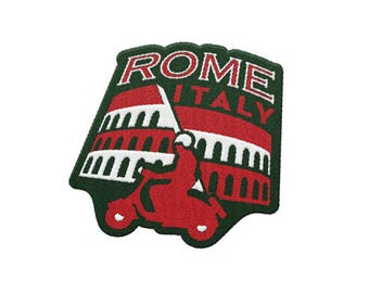 Rome Italy Travel Patch