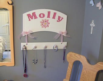 Custom Sign and Necklace Hanger