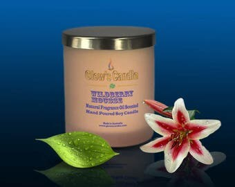 Wildberry Mousse Soy Wax Candle
