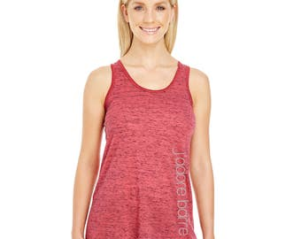 j'adore Barre Tank Top - Red Blizzard