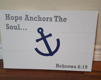 Hope Anchors the Soul picture