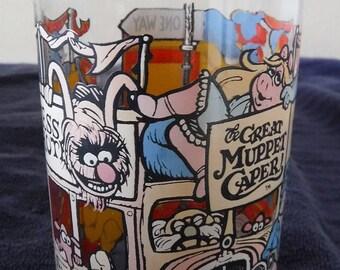 Great Muppet Caper Happiness Hotel McDonalds 1981 Glass