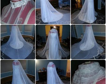 Cloak Verano:  Basic Summer Bridal Cloak