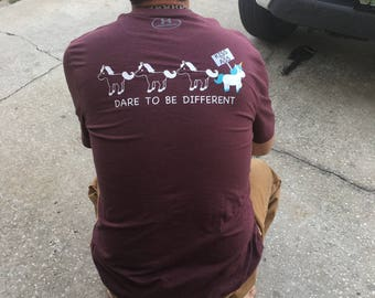 Dare To Be Different Unicorn Shirt/ Unicorn Shirt/ Stand out/ Be Different/ Kiss my Ass/ Unicorns