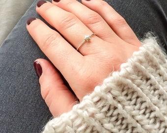 Star ring | sterling silver