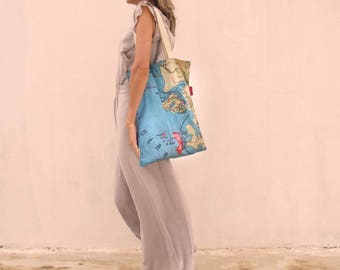 Mapping Greece Shopping bag