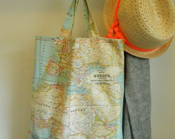 Bag World map - Shopper