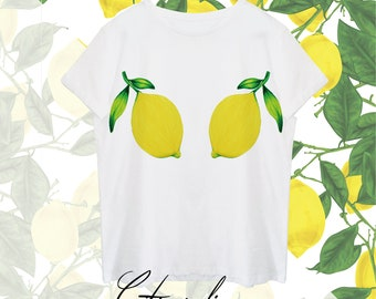 T-shirt Nature Collection/Citrus limon