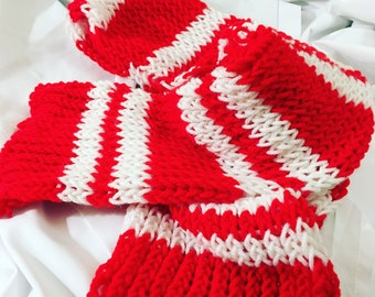 Red and White (Detroit Red Wings) Scarf