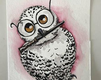 Snowy Owl wizard