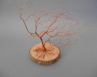 decorative copper wire - tree