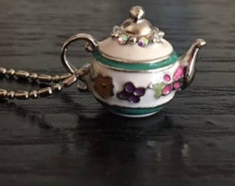 Tea pot Charm Necklace