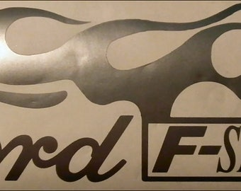 "Ford F-Series Ford Truck Stickers Decals F Series  16"" BOTH Sides - Colors"