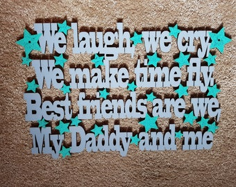 Fathers day gift sign birthday present