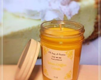 Lemon Chiffon 8oz Candle
