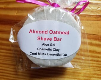 Almond Oatmeal Shave Bar