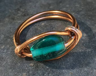 Green Ring Copper Wire