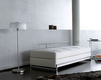 Eileen Gray daybed in Italian leather