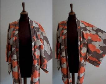 Vintage Japanese Patterned Haori