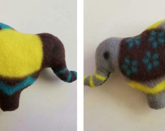 Recycled Fleece Elephant