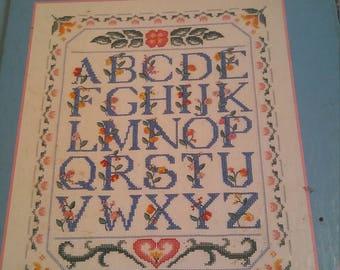 McCall's Needlework & Crafts Country Cross-Stitch Book Patterns Cross Stitch