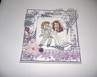 Card for wedding