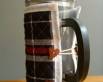 Cafetiere cosy cover