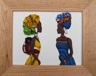 African fabric picture