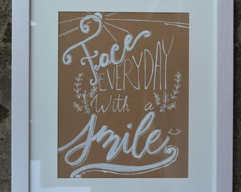 Face Everyday with a Smile