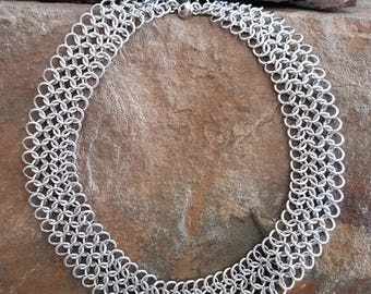 Chainmaille necklace European