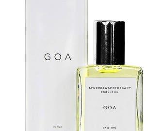 Goa Balancing Perfume Oil