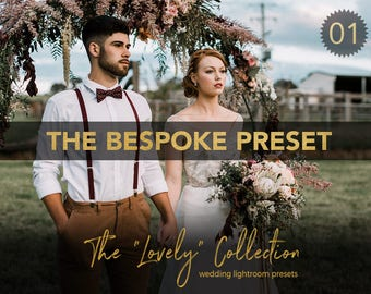 Bespoke Hipster Film Inspired Wedding Lightroom Preset - LVY01 - The Lovely Collection by Shae Estella Photo