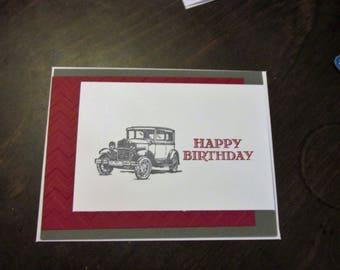 Happy Birthday Hand Made Card