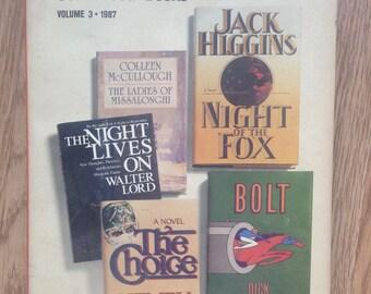 Reader's Digest Condensed Books Volume 3 1987