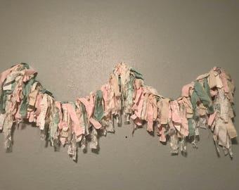 Scrap fabric banner