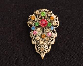 Vintage Scarf Brooch