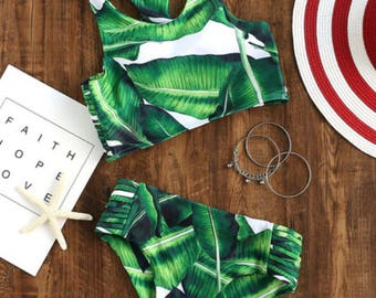 Palm Leaves by Flora