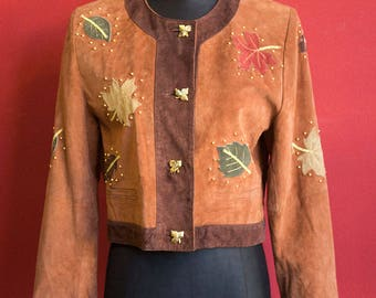 Original 100% real Suede 80's Jacket